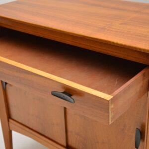 walnut retro vintage cabinet