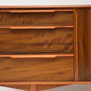 retro vintage walnut sideboard