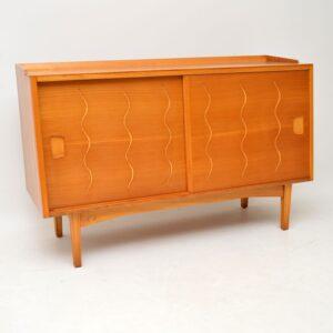 1950's Vintage Elm & Walnut Sideboard