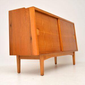 retro vintage walnut elm sideboard