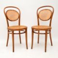 set_of_four_retro_vintage_antique_thonet_bentwood_dining_bistro_cafe_chairs_3