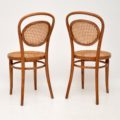 set_of_four_retro_vintage_antique_thonet_bentwood_dining_bistro_cafe_chairs_6