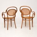 set_of_four_retro_vintage_antique_thonet_bentwood_dining_bistro_cafe_chairs_7