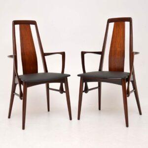 danish rosewood dining chairs niels koeoed koefoeds hornslet