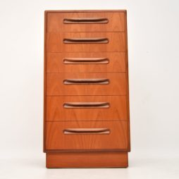 teak retro vintage danish chest of drawers g- plan fresco