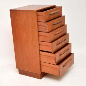 teak retro vintage danish chest of drawers g- plan fresco