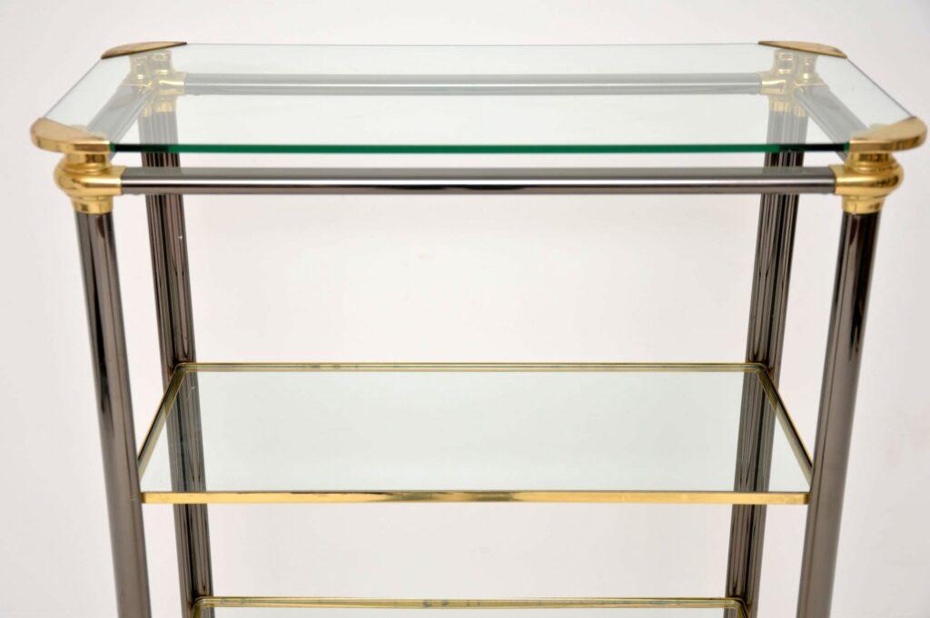 vintage retro italian bookcase cabinet