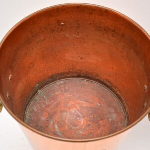vintage retro copper champagne ice bucket