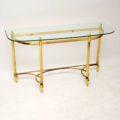 antique_vintage_retro_brass_glass_console_table_2