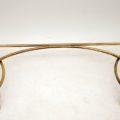 antique_vintage_retro_brass_glass_console_table_3
