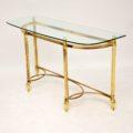 antique_vintage_retro_brass_glass_console_table_6
