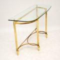 antique_vintage_retro_brass_glass_console_table_8