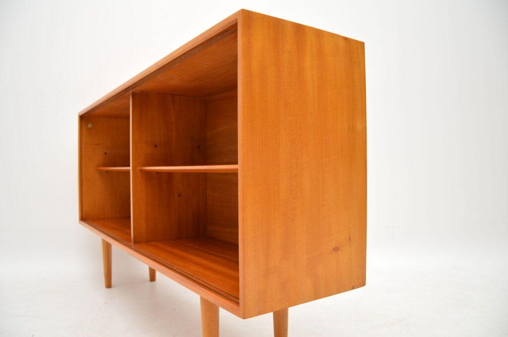 robin day hille vintage open bookcase cabinet sideboard