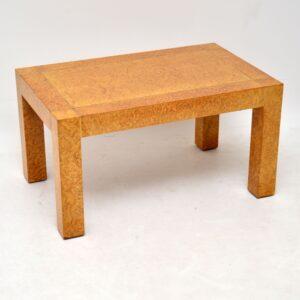 vintage retro burr elm coffee table by g plan