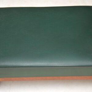 teak retro vintage telephone table entry bench
