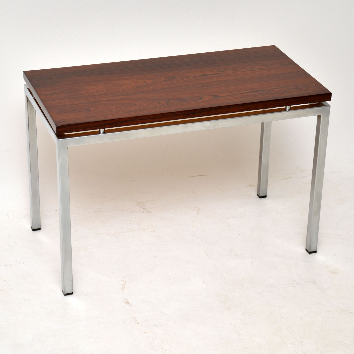 danish retro rosewood vintage side table coffee table