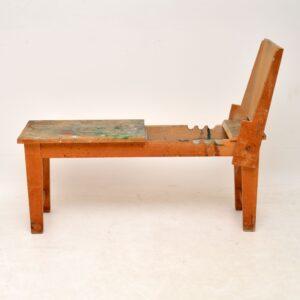 Vintage Winsor & Newton Easel / Platform Bench
