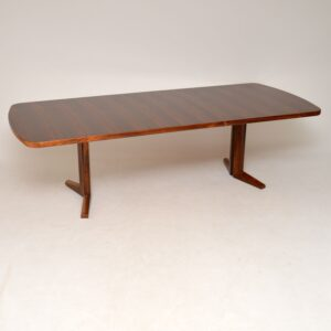 rosewood vintage retro extending dining table gordon russell