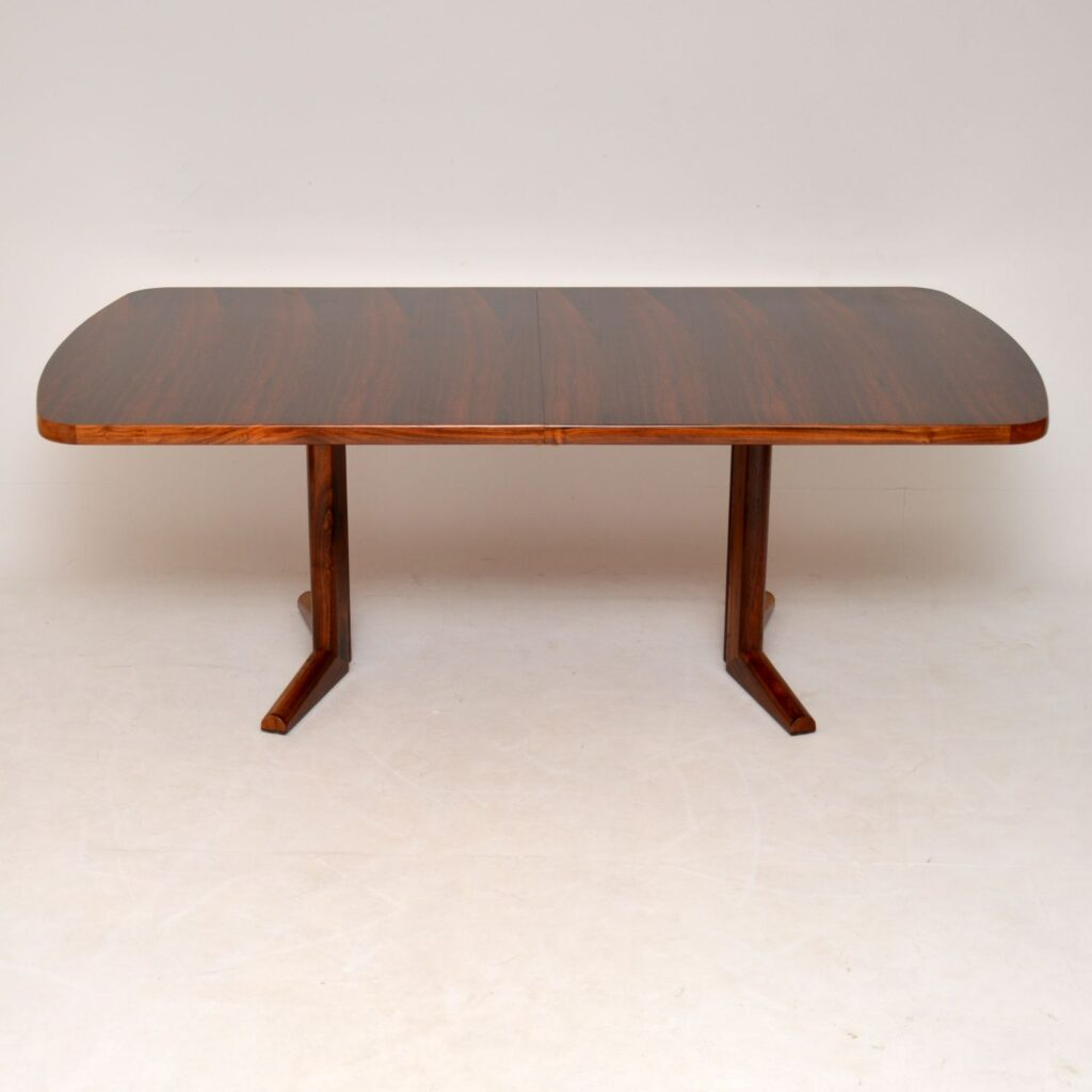 rosewood retro vintage dining table by gordon russell