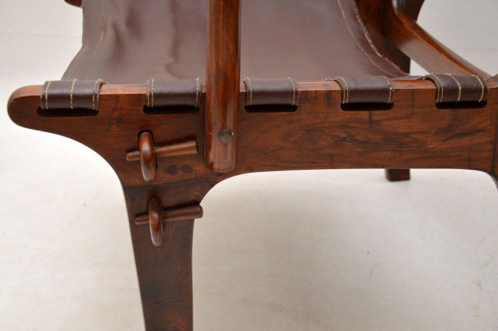 pair of retro vintage rosewood armchairs angel pazmino