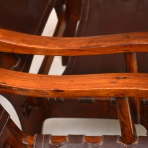 pair of retro vintage rosewood armchairs angel pazmino