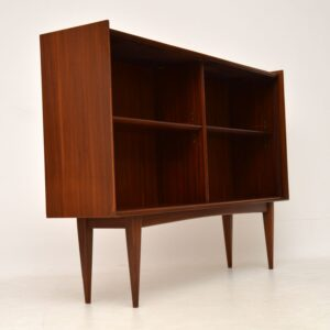 vintage retro afromosia bookcase cabinet richard hornby