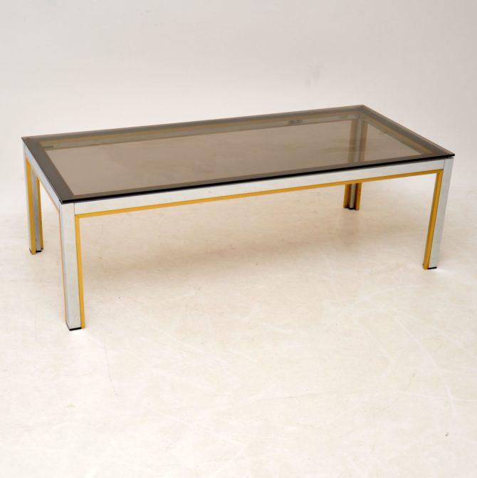 retro vintage italian coffee table zevi