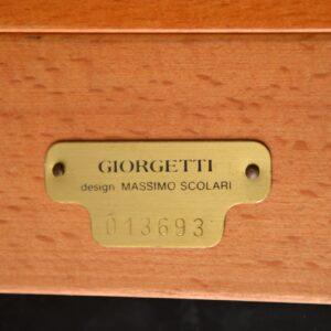 retro vintage italian desk massimo scolari giorgetti