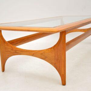 1960's Vintage Elm Coffee Table by Lane Altavista