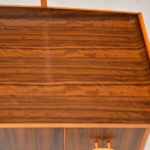 retro vintage walnut dressing table
