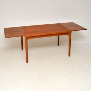 1960's Danish Vintage Dining Table by Henning Kjaernulf