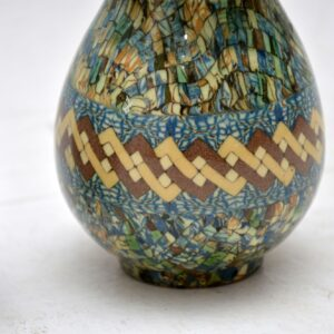 pair of antique retro vintage french ceramic vase vases jean gerbino vallauris