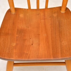 1960's Pair of Vintage Ercol Dining Chairs