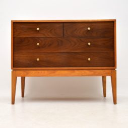 retro vintage rosewood mahogany chest of drawers uniflex