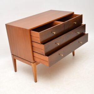 1960's Vintage Rosewood & Mahogany Chest of Drawers
