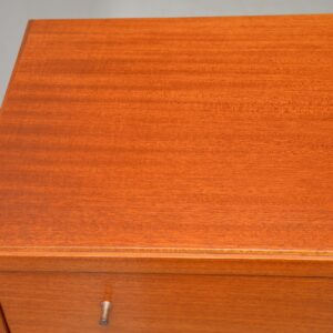 retro vintage mahogany chest of drawers