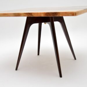 1960's Italian Lacquered Parchment Coffee Table by Aldo Tura
