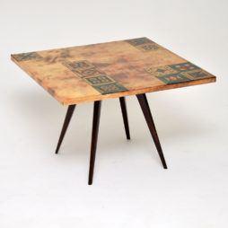 aldo tura vintage retro coffee table