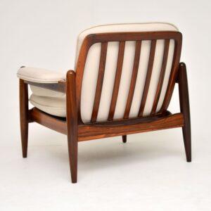 1960's Danish Vintage Rosewood Armchair