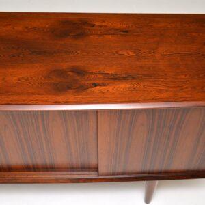 danish retro rosewood vintage sideboard arne vodder