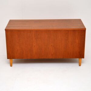 danish teak retro vintage storage chest ottman box