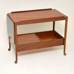 danish teak vintage retro drinks trolley ib kofod larsen