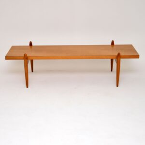 danish rosewood walnut elm coffee table retro vintage
