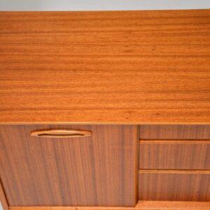 retro vintage danish teak walnut sideboard