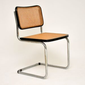 retro vintage marcel breuer cesca chair