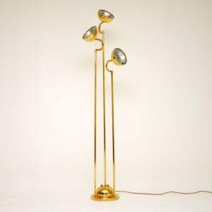 retro vintage brass italian floor lamp lighting