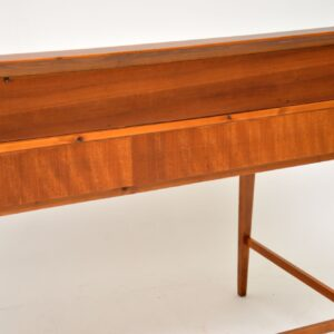 1950's Vintage Danish Walnut Writing Desk