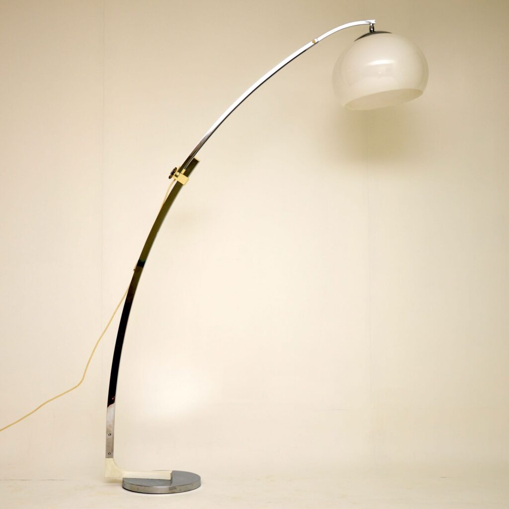 retro vintage italian floor lamp arc lamp lighting