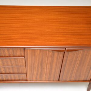 retro vintage walnut sideboard