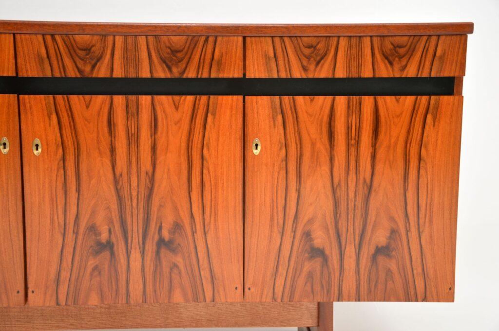 danish retro rosewood vintage sideboard